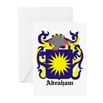 Abraham Coat of Arms Greeting Cards (Pk of 10)