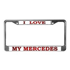 My Mercedes License Plate Frame