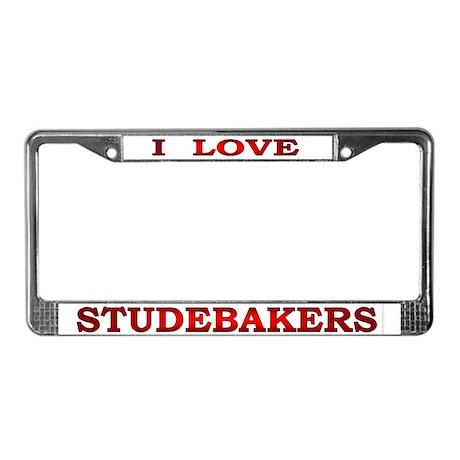 Studebaker License Plate Frame
