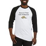 Eat a Beaver Baseball Jersey
