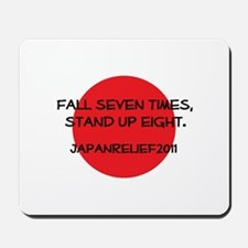 Fall Seven Times, Stand Up Eight - Mousepad