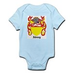 Abney Coat of Arms Infant Creeper