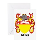 Abney Coat of Arms Greeting Cards (Pk of 10)