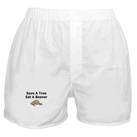 Eat a Beaver Boxer Shorts