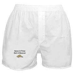 Eat a Beaver Boxer Shorts
