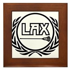 Lax Logo Framed Tile
