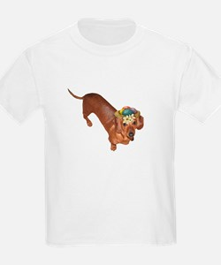 Tiger Dachshunds Dogs Nest Eggs Hat T-Shirt