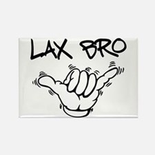 Hang Loose Lax Bro Rectangle Magnet