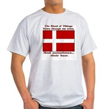 Danish Vikings and Beer T-Shirt