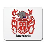Aberrdein Coat of Arms Mousepad