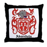 Aberrdein Coat of Arms Throw Pillow