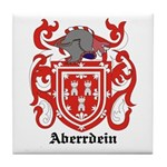 Aberrdein Coat of Arms Tile Coaster