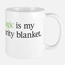 Logic/Security Blanket Mug