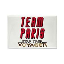 Team Paris Star Trek Voyager Rectangle Magnet (10
