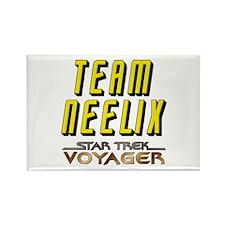 Team Neelix Star Trek Voyager Rectangle Magnet (10