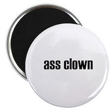 ass clown large magnet (100 count)