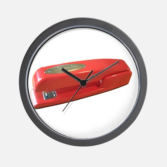 stapler Wall Clock