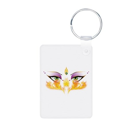 Belly Dance Shimmy Chic Aluminum Photo Keychain