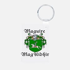 Maguire In Irish & English Keychains