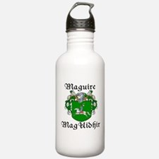Maguire In Irish & English Water Bottle