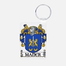Maher Coat of Arms Aluminum Photo Keychain