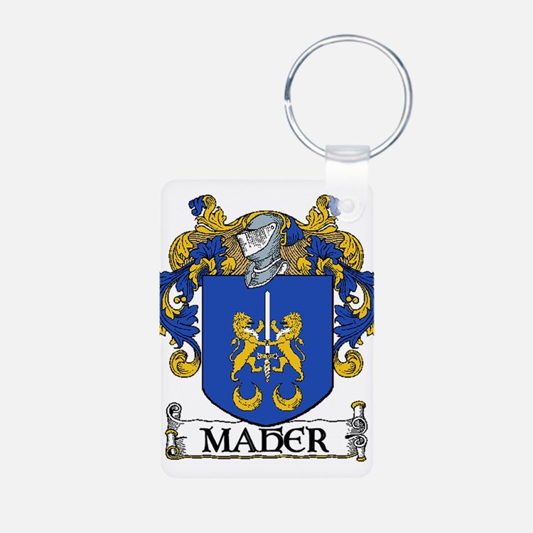 Maher Coat of Arms Keychains