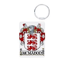 McMahon Coat of Arms Aluminum Photo Keychain
