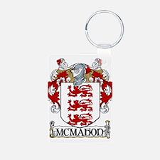 McMahon Coat of Arms Aluminum Photo Keychain