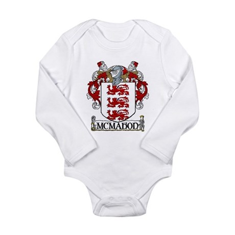 McMahon Coat of Arms Long Sleeve Infant Bodysuit