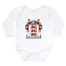 McMahon Coat of Arms Long Sleeve Infant Bodysuit