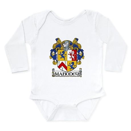 Mahoney Coat of Arms Long Sleeve Infant Bodysuit