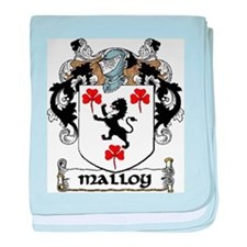 Malloy Coat of Arms baby blanket