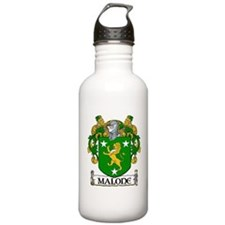 Malone Coat of Arms Water Bottle