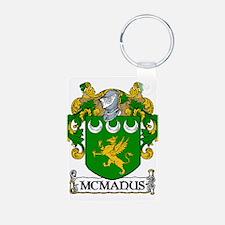 McManus Coat of Arms Aluminum Photo Keychain