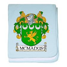 McManus Coat of Arms baby blanket