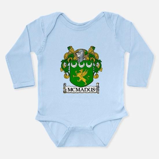 McManus Coat of Arms Long Sleeve Infant Bodysuit