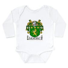 Moore Coat of Arms Long Sleeve Infant Bodysuit