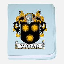 Moran Coat of Arms baby blanket