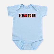 I Love Firefly Infant Bodysuit