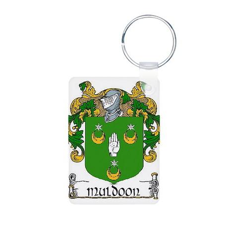 Muldoon Coat of Arms Aluminum Photo Keychain