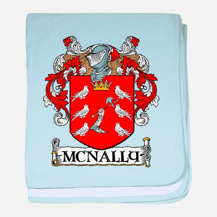 McNally Coat of Arms baby blanket