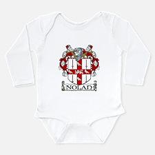 Nolan Coat of Arms Long Sleeve Infant Bodysuit