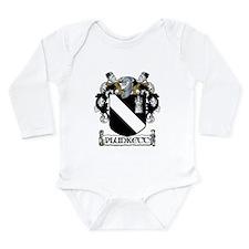 Plunkett Coat of Arms Long Sleeve Infant Bodysuit