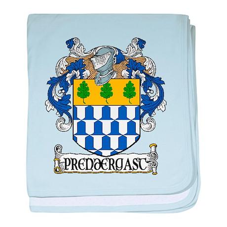 Prendergast Coat of Arms baby blanket