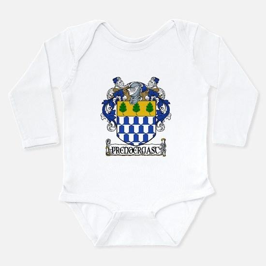 Prendergast Coat of Arms Long Sleeve Infant Bodysu