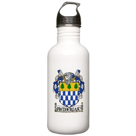 Prendergast Coat of Arms Stainless Water Bottle 1.