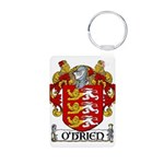 O'Brien Coat of Arms Aluminum Photo Keychain