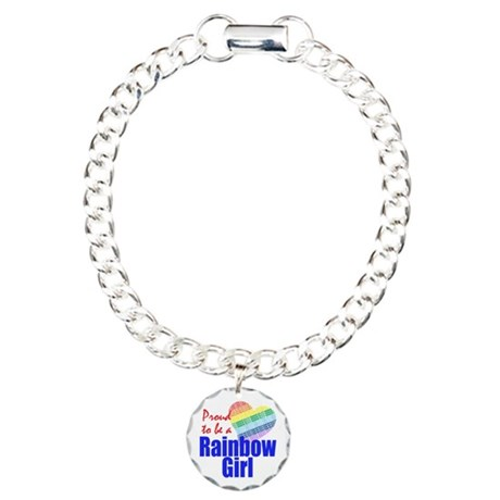 Order of the Rainbow for Girl Charm Bracelet, One