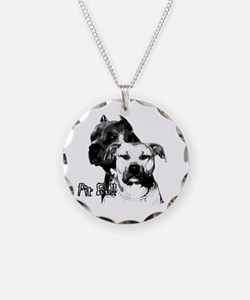 Two tone bully design Necklace