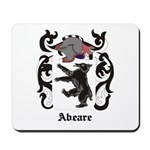 Abeare Coat of Arms Mousepad